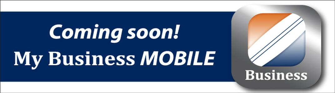 Coming Soon! My Business Mobile App