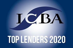 Image: Independent Community Bankers of America Top Lenders 2020