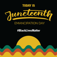 Today is Juneteenth Emancipation Day image