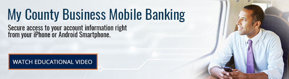 My County Business Mobile Banking